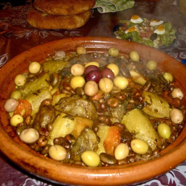 Blog - Tajine aux poissons et olives - Yogakatia-el-aouane
