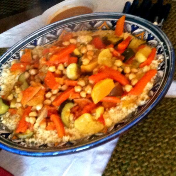 Blog - Recette Couscous aux pois chiches- Yogakatia-el-aouane